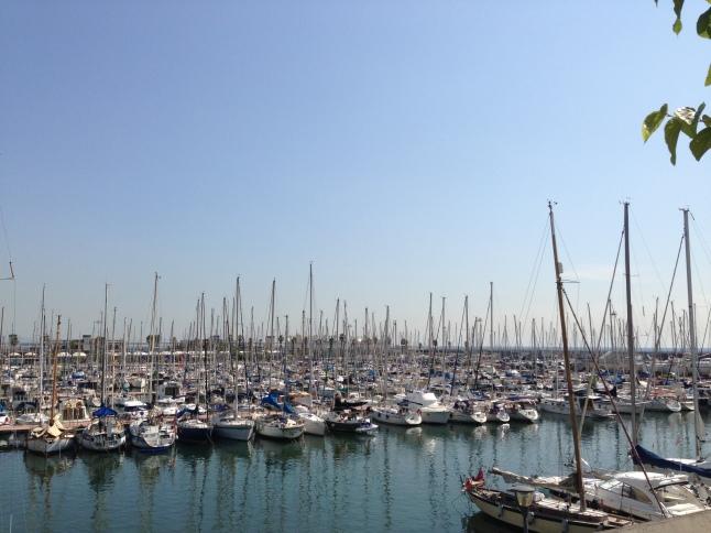 jachthaven Port Olimpic Barcelona