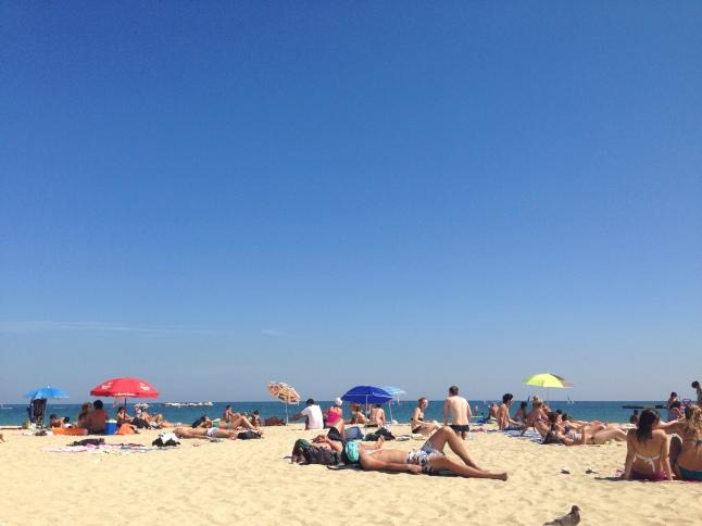 Bogatell beach Barcelona