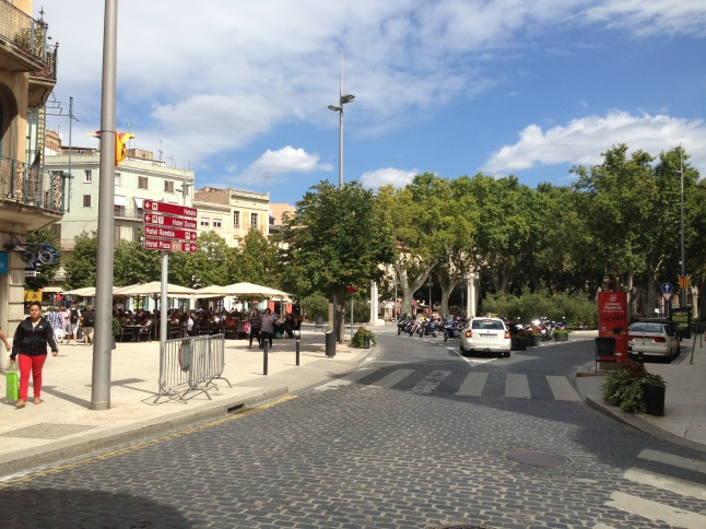 La Rambla in Figueres