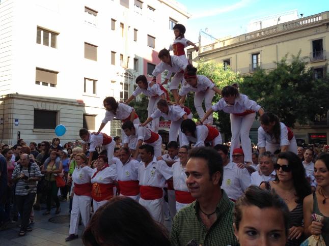 Barcelona fiesta de la merced