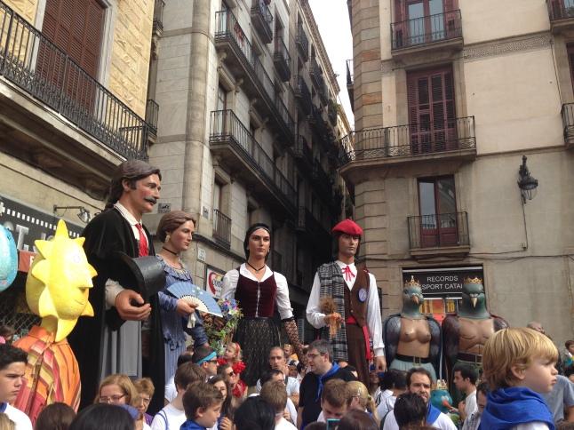fiesta de la merced gigantes barcelona