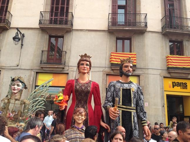fiesta de la merced barcelona gigantes