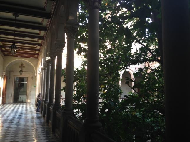 De gangen in de UB