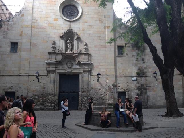 barri gotic barcelona