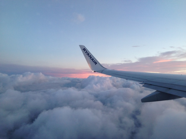 Up in the air with Ryanair