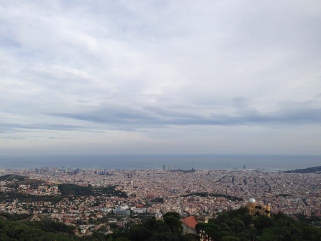 Het uitzicht over Barcelona