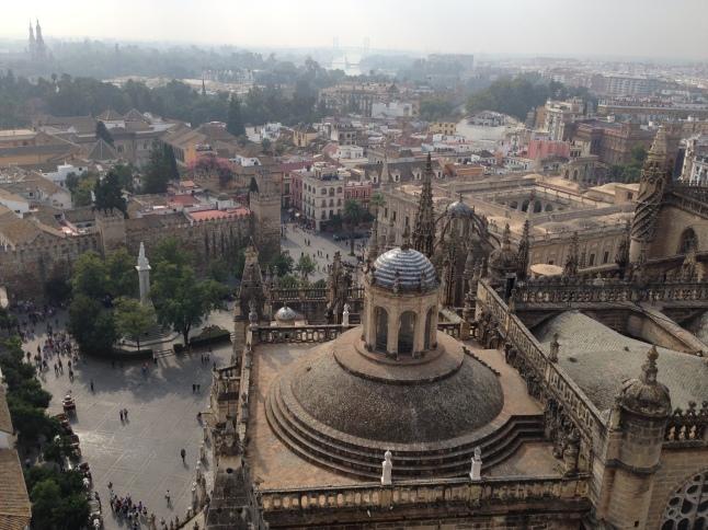Uitzicht op de Sevilla