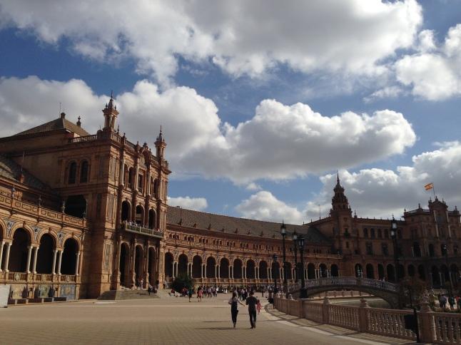 Plaza de Espanya sevilla