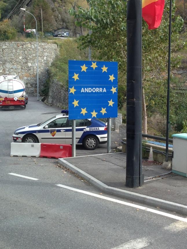 De douane van Andorra