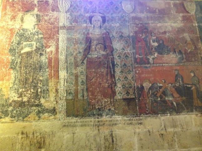 Romeinse fresco tarragona