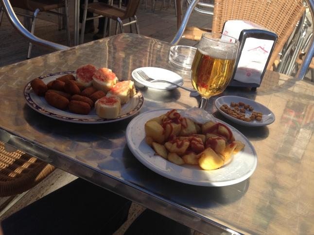 lunch in tarragona tapas