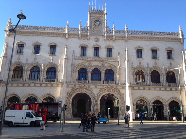 Rossio Train Station lissabon