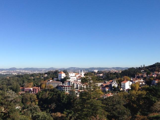 Uitzicht over Sintra