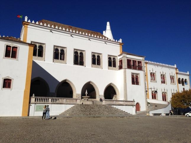 Hoofdplein van Sintra