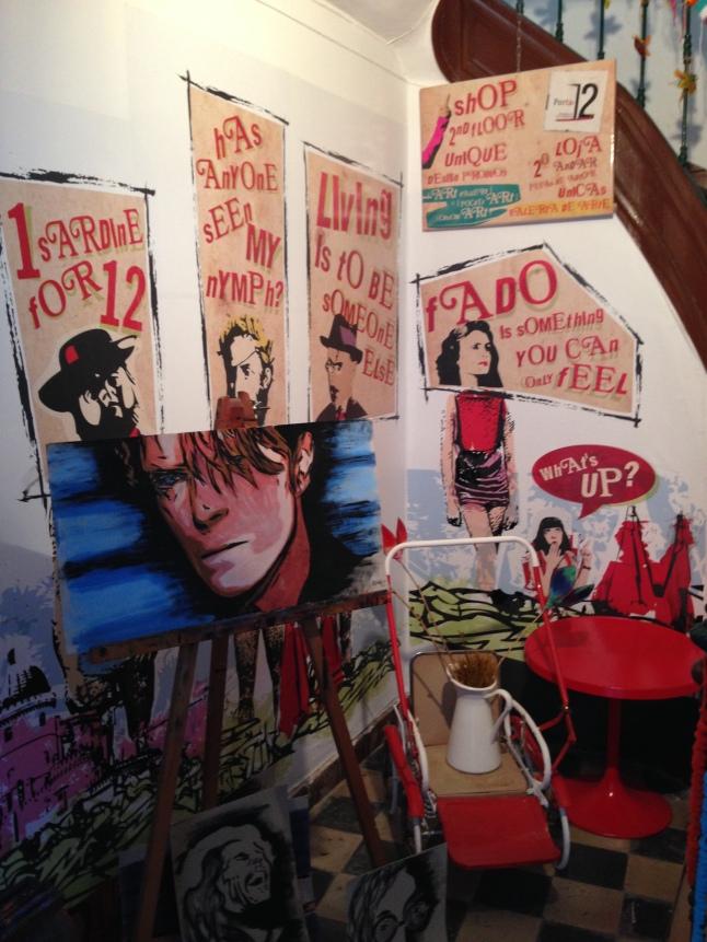 Artistiek winkeltje in sintra