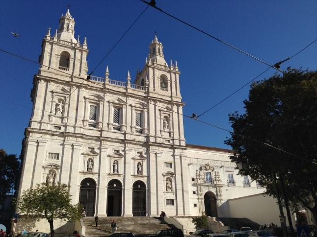 San Vincente kerk lissabon