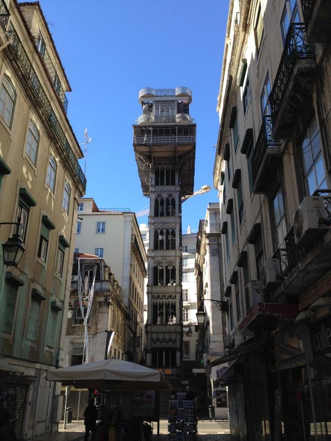 Uitkijktoren lissabon
