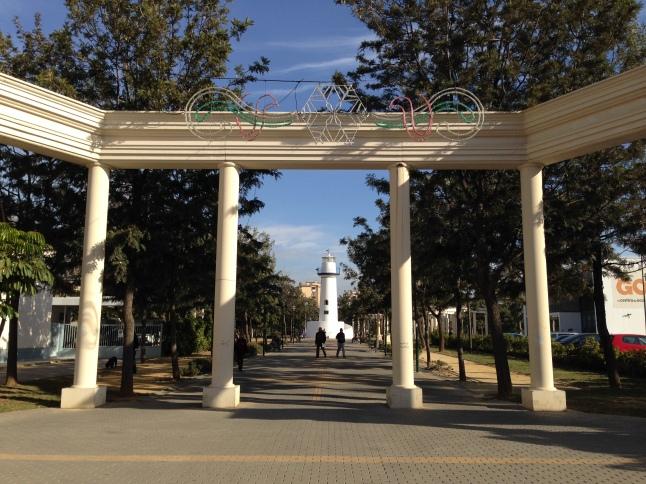 Parque Huelin malaga
