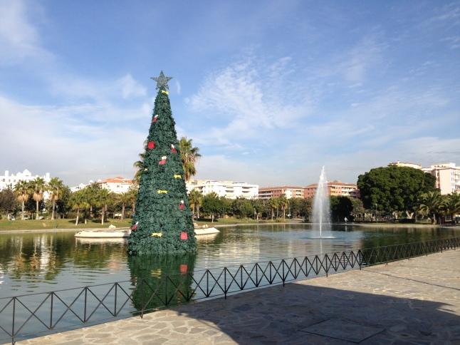 Kerstboom malaga