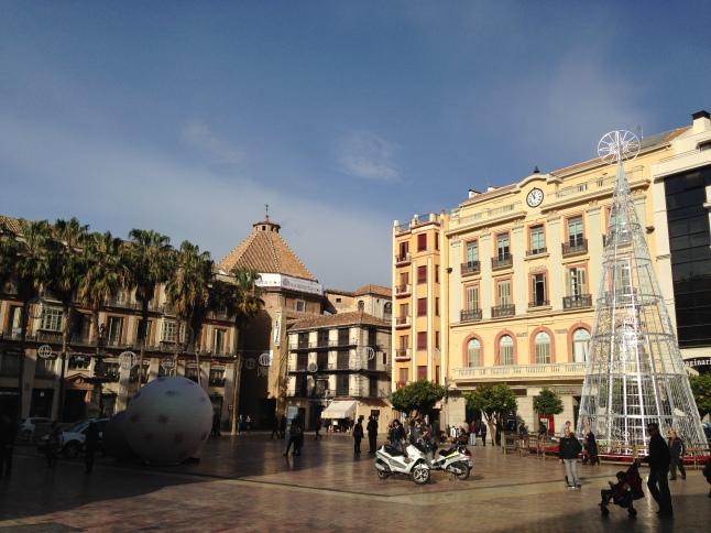 Plaza de Concepción malaga