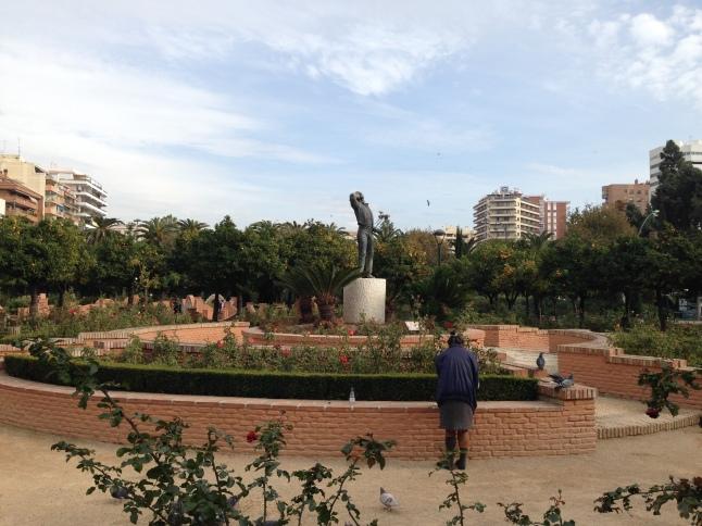 Jardines Pedro Luis Alfonso malaga