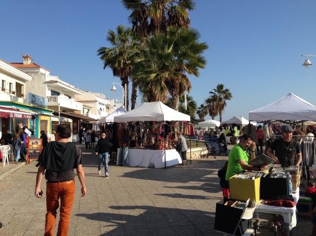 Marktje in El Palo malaga