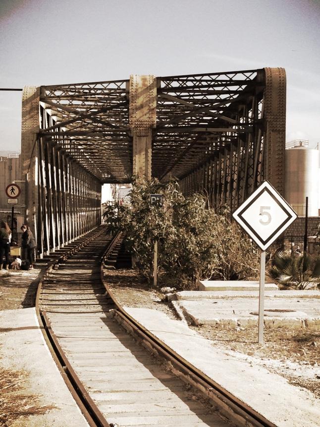 barcelona spoorwegbrug