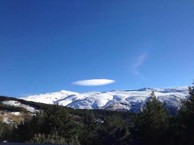 spanje granada Sierra Nevada