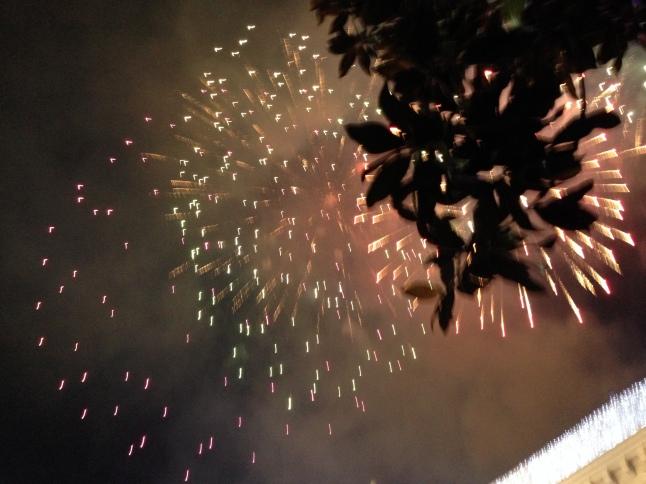 nieuwjaar vuurwerk spanje granada