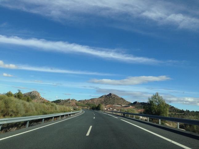 On the way to San Pedro del Pinatar