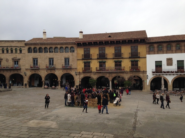 poble espanol barcelona