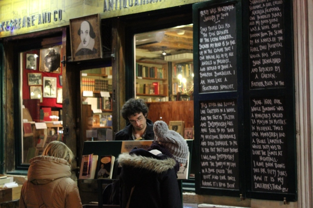 shakespeare & company parijs