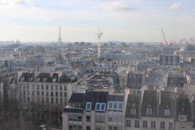 parijs uitzicht