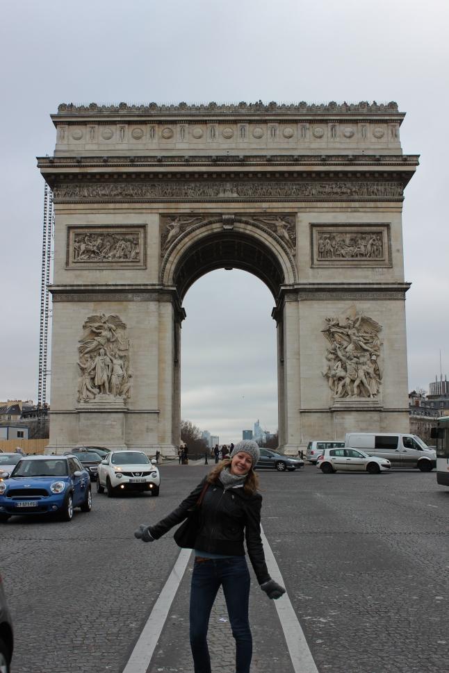 Arc de Triomph parijs ik