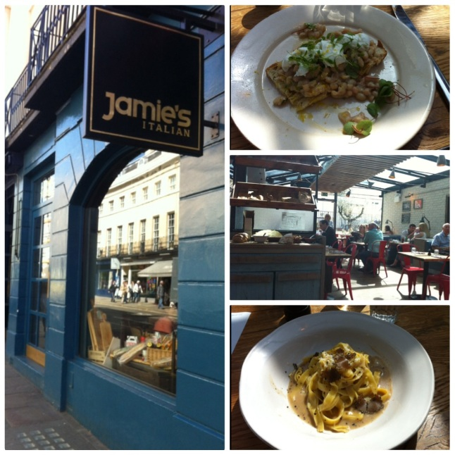 Jamie's Italian in Greenwich