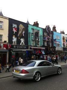 Shops in Camden Town
