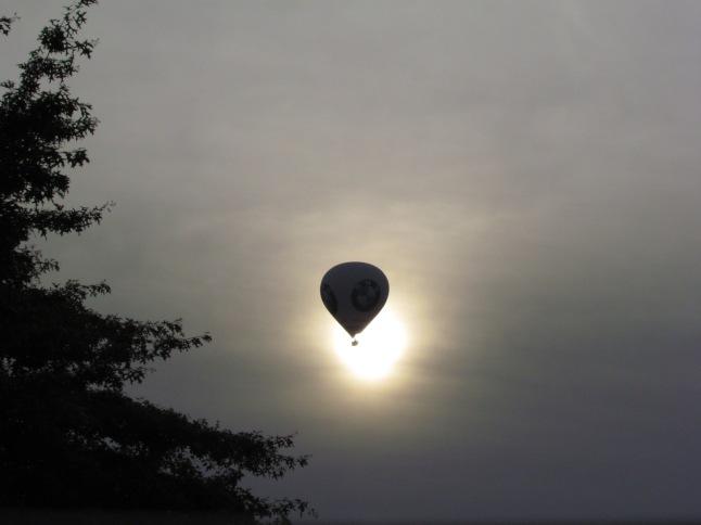 Met een luchtballon over België varen