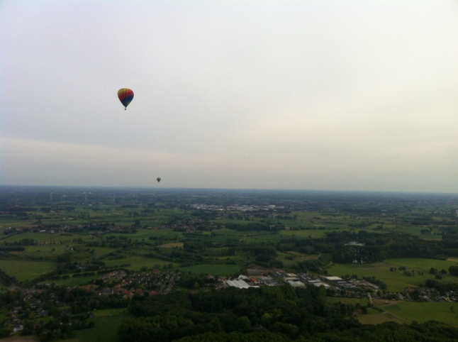 ride hot air balloon