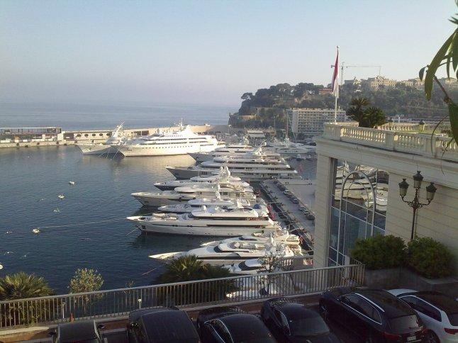 De jachthaven van Monaco