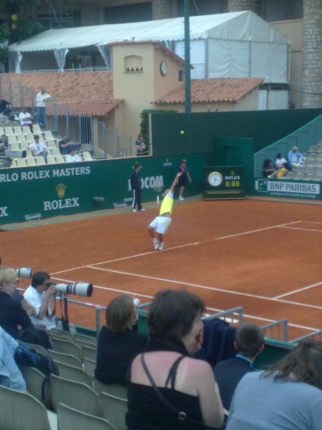Xavier Malisse op het toernooi van Monte Carlo