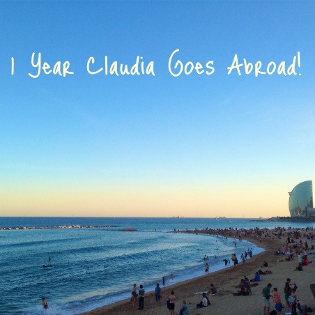 claudia goes abroad