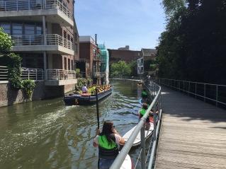 DIjlepad-paddling-Mechelen