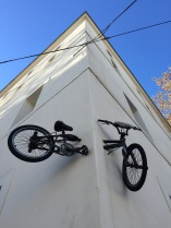 fiets-muur-montpellier