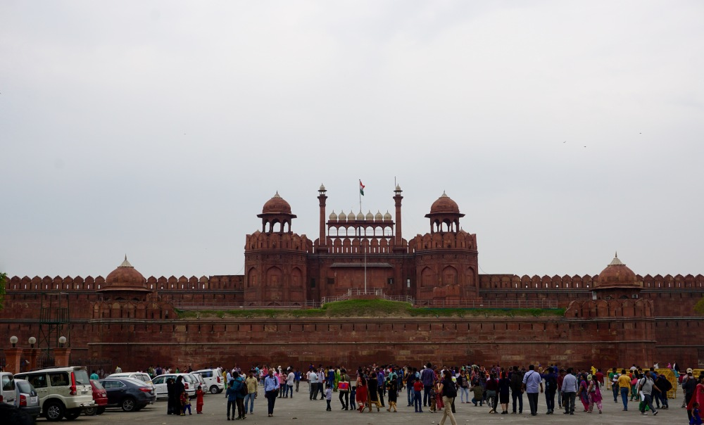 red-fort-delhi-india