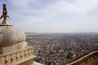 Jaipur-rajasthan-fort-panorama