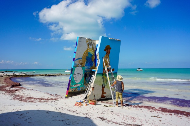 holbox street art graffiti