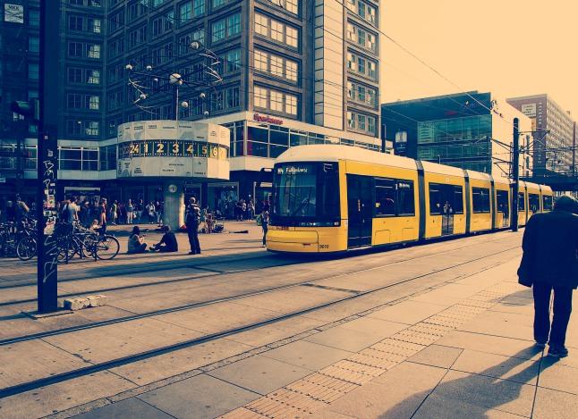 berlijn tram toeristenstad