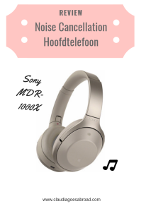 Noise Cancellation Hoofdtelefoon