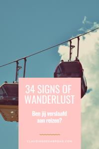 wanderlust symptomen verslaafd aan reizen