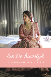 hindoe huwelijk pin